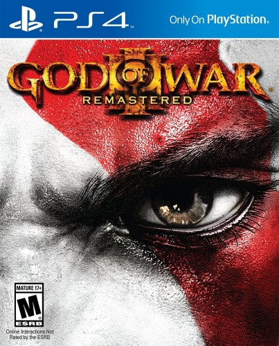3 God of War III Remastred disponible solo en PS4