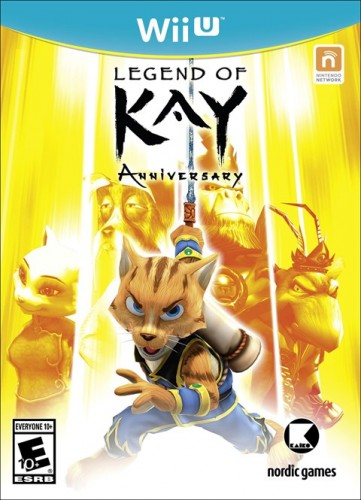 9 Legend of Kay Anniversary disponible en WII U y PS4