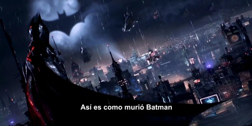 batman arkham knight trailer de lanzamiento criticsight