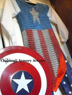 captain america chainmail