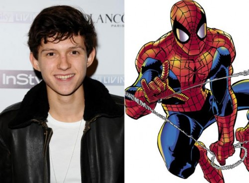 tom holland the new spiderman peter parker criticsight