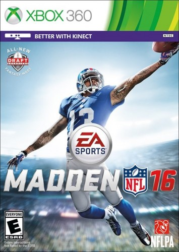 12 Madden NFL 16 disponible en PS3, XBOX 360, PS4 y XBOX One