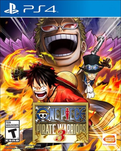 13 One Piece Pirate Warriors 3 disponible solo en PS4