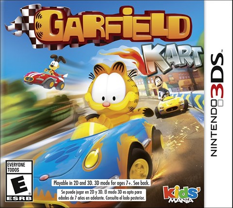 3 Garfield Kart disponible solo en 3DS