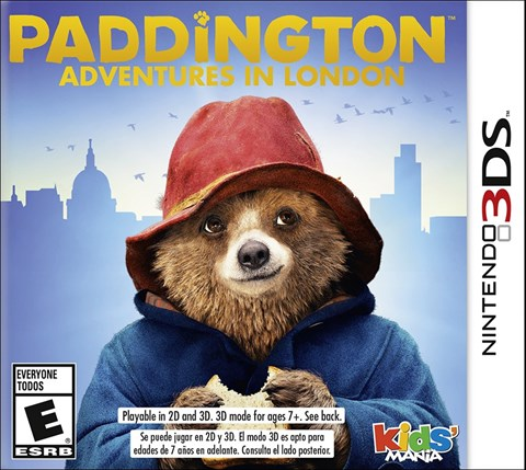 4 Paddington Adventures in London solo en 3DS