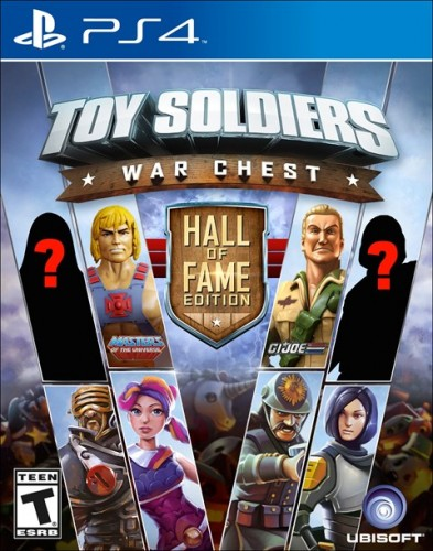 5 Toy Soldiers War Chest Hall of Fame Edition disponible en XBOX One y PS4