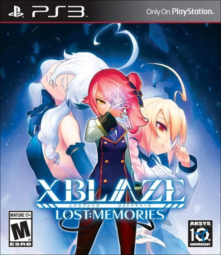 6 Xblaze Lost Memories disponible en PS3 y PS Vita