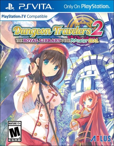 7 Dungeon Travelers 2 The Royal Library and the Monster Seal disponible solo en PS VITAg