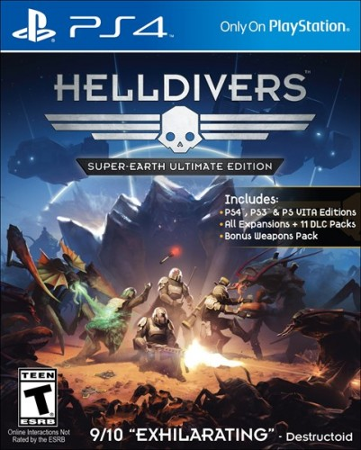 8 Hellsivers Super-Earth Ultimate Edition disponible solo en PS4