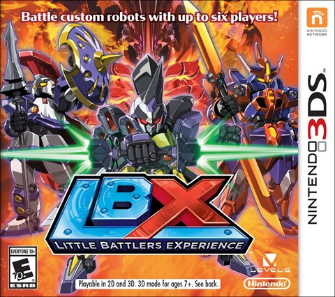 9 LBX Little Battlers eXperience  disponible solo en 3DS