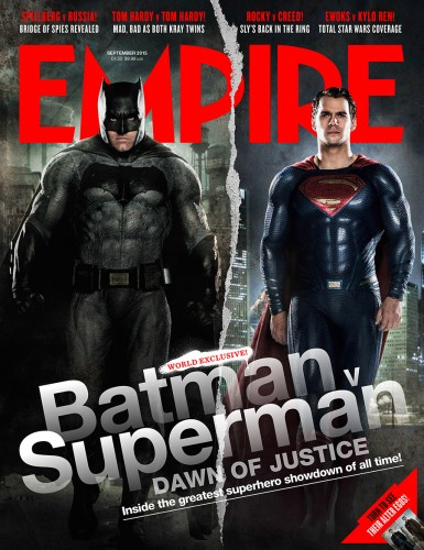 Nuevo Vistazo a Batman v Superman Mediante la Portada de Empire criticsight 2