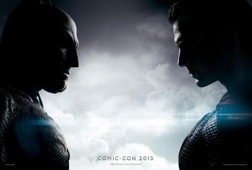 batman v Superman new banner poster comic con 2015 criticsight