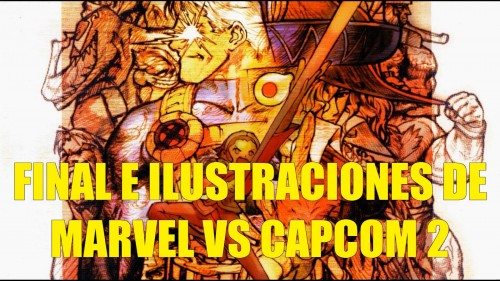 final e ilustraciones de Marvel vs Capcom 2 portada criticsight