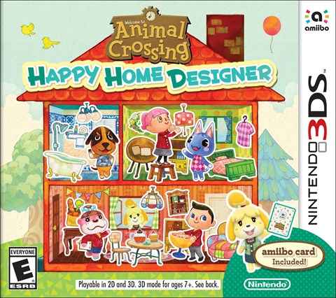 18 Animal Crossing Happy Home Designer disponible solo en 3DS criticsight