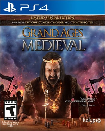 20 Grand Ages Medieval disponible solo en PS4 criticsight