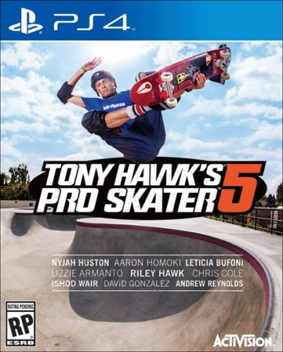 24 Tony Hawk´s Pro Skater 5 disponible en XBOX One y PS4  criticsight