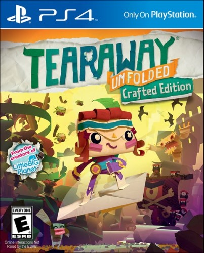 7 Tearaway Unfolded disponible solo en PS4 criticsight