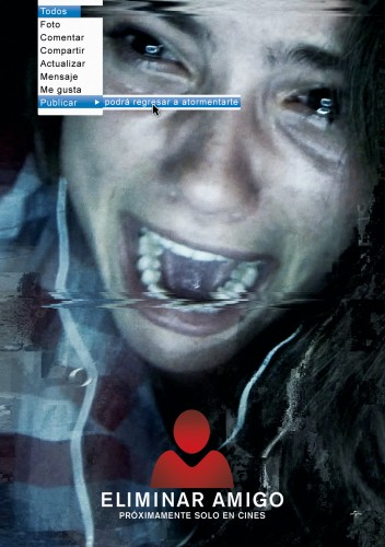 Eliminar Amigo Unfriended pelicula movie poster latino mexico criticsight 2015