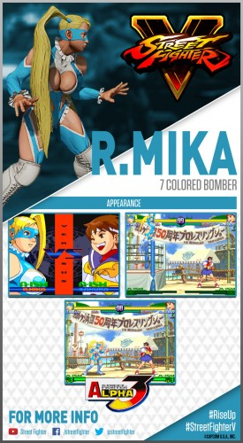 street fighter V R Mika card criticsight 2016
