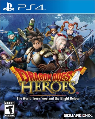 12 Dragon Quest Heroes The World Tree´s Woe and the Blight Below disponible en PS4 criticsight