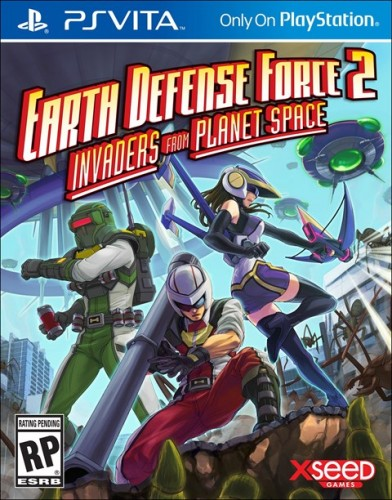 23 Earth Defense Force 2 Invaders from Planet Space disponible en PS VITA criticisght