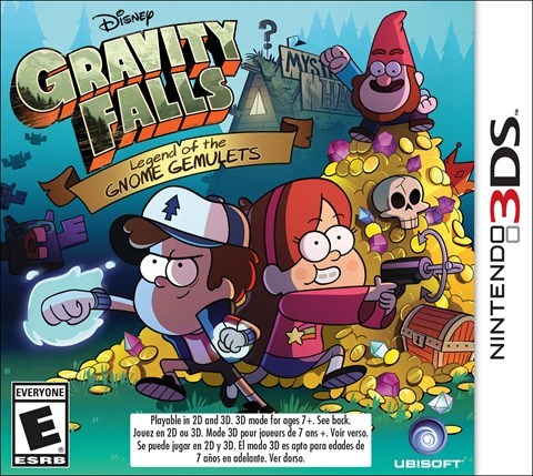 31 Gravity Falls disponible en 3DS