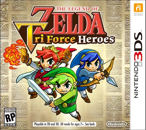 32 The Legend of Zelda Triforce Heroes disponible solo en 3DS criticisght