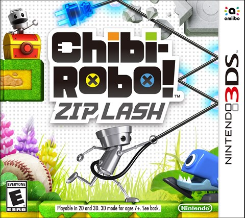 8 Chibi-Robo! Zip Lash disponible solo en 3DS criticsight