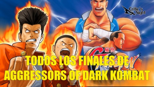Aggressor of the dark kombat todos los finales portada criticsight