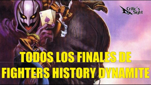 Fighters History Dynamite finales portada criticsight