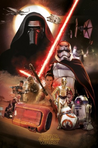 Nuevos Artes Promocionales de Star Wars The Force Awakens (2015) criticsight 2