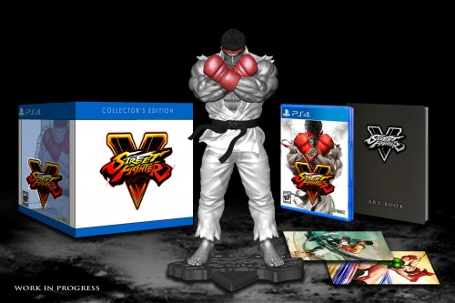 Street fighter V collectors Edition  edicion de coleccion coleccionistas demo 2015 2016 criticsight