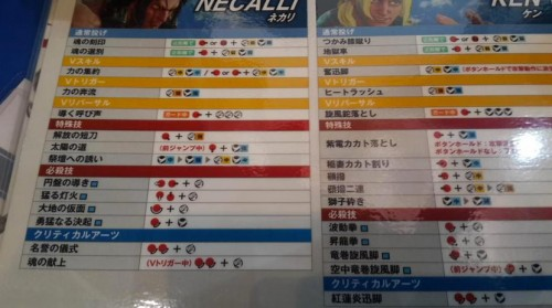 street fighter v 5 necalli move list criticsight