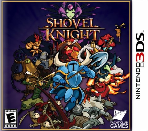5 Shovel Knight disponible en 3DS, WII U y PS4 criticsight