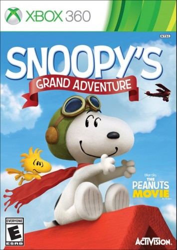 6  Snoopy´s Grand Adventure disponible en XBOX 360, PS4, 3DS, WII U y XBOX One