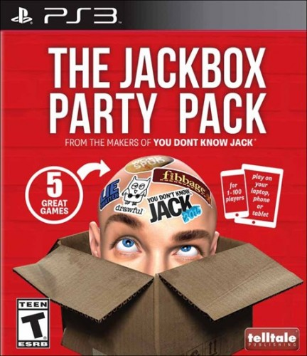 7 The Jackbox Party Pack  disponible en PS3, PS4, XBOX One y XBOX 360