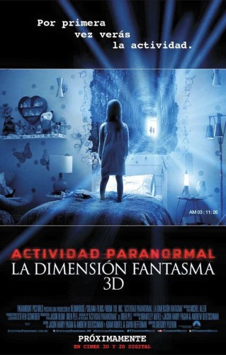 Actividad Paranormal 5 La dimension fantasma poster latino mexico 2015 criticsight