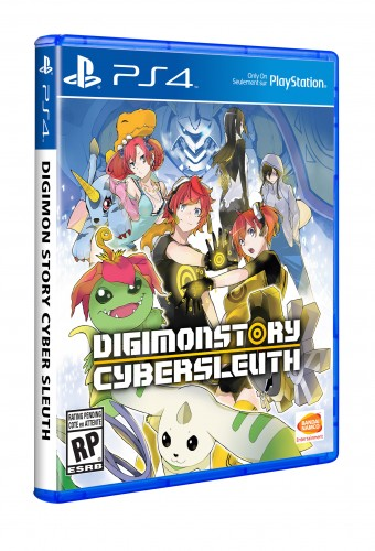 Digimon Story  Cyber Sleuth portada cover front ps4 USA america criticsight 2016