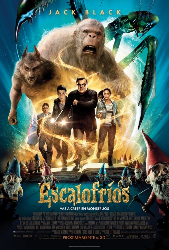 Escalofrios poster latino mexico 2015 criticsight goosebumps