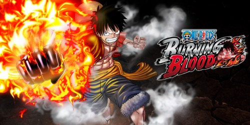 "One Piece Burning Blood""  Bandai Namco criticsight 2015 banner  Luffy"