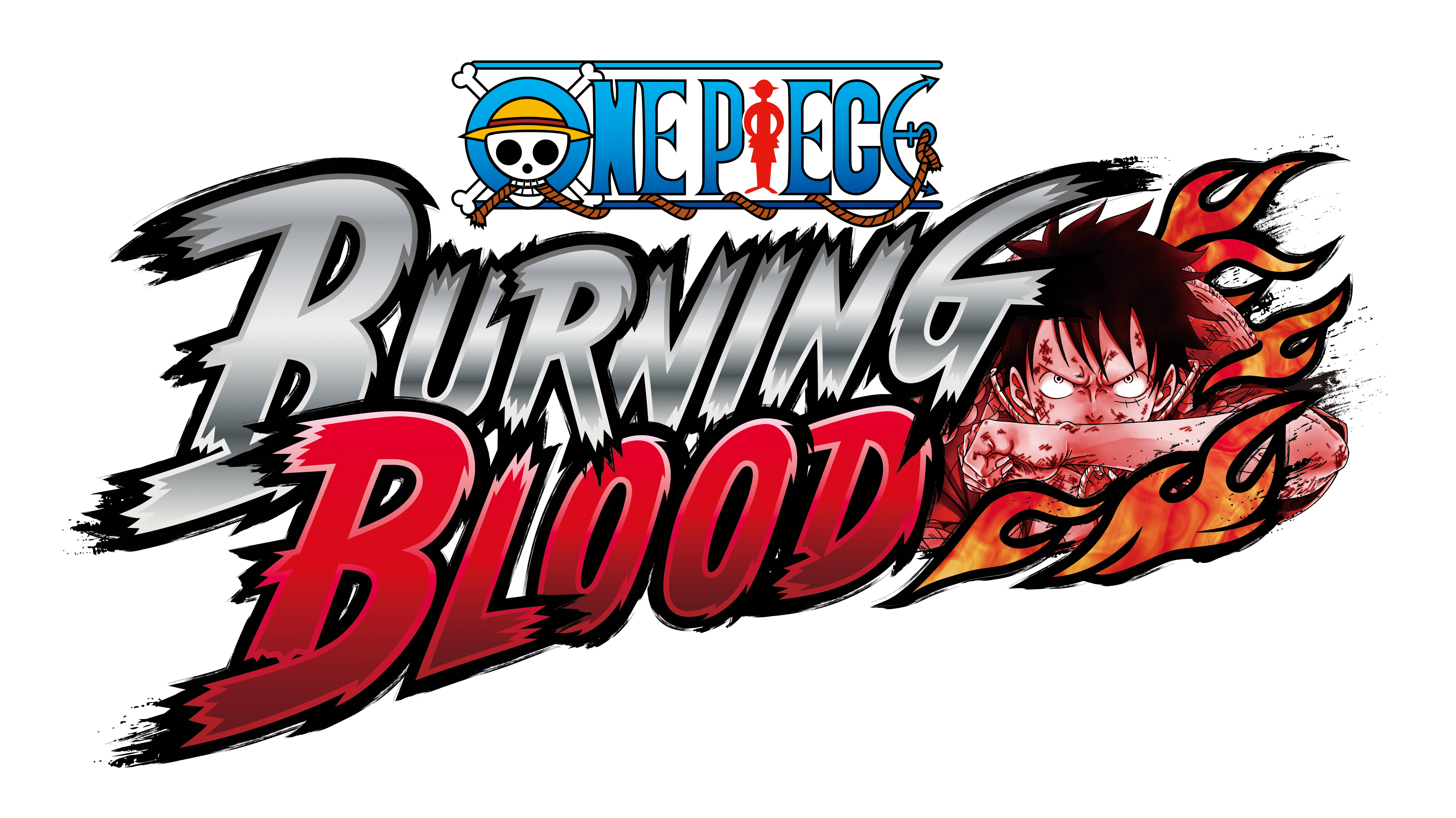 "One Piece Burning Blood""  Bandai Namco criticsight 2015 banner  logo"