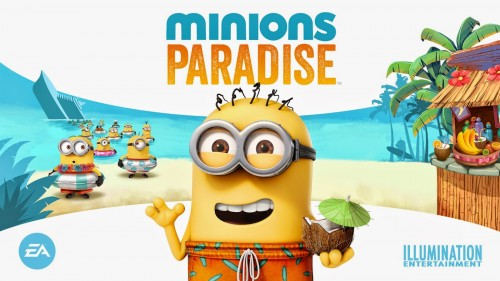 minions paradise juego android apple store criticsight wallpaper EA 2015