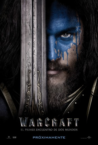 16 Warcraft El Primer Encuentro de Dos Mundos (Warcraft The Beginning)   poster latino mexico español 2016 criticsight 2