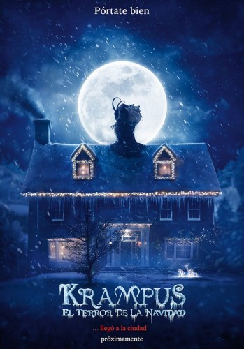 2 Krampus El Terror de la Navidad (Krampus The Christmas Devil) poster latino mexico 2015