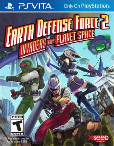 5 Earth Defense Force 2 Invaders from Planet Space disponible solo en PS VITA