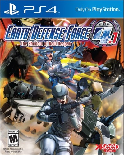 6 Earth Defense Force 4.1 The Shadow of New Despair disponible solo en PS4 criticsight