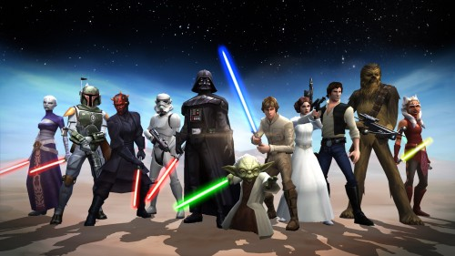 Star Wars Galaxy of Heroes  EA wallpaper criticsight