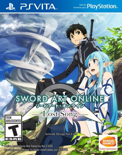 Sword Art Online Lost Song   portada PS VITA español criticsight