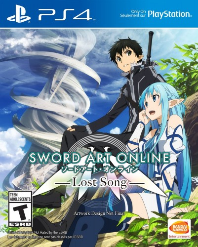 Sword Art Online Lost Song   portada español PS4 criticsight