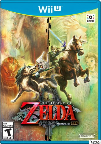 The Legend of Zelda Twilight Princess HD Para WII U portada juego criticsight